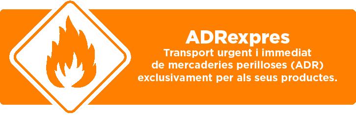 ADRexpres - Transport de mercaderies perilloses (ADR)