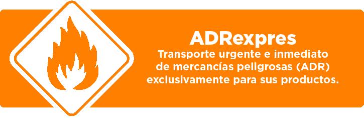 ADRexpres - Transporte de mercancias peligrosas (ADR)