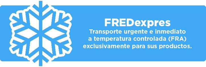 FREDexpres - Transporte a temperatura controlada (FRA)