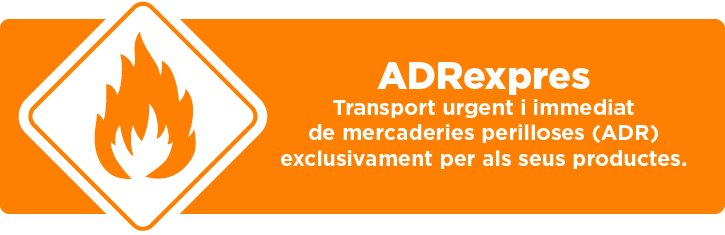 ADRexpres - Transport de mercaderies perilloses (ADR)