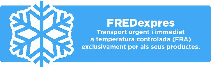 FREDexpres - Transport a temperatura controlada (FRA)